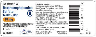 Dextroamphetamine Side Effects not be used