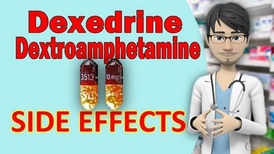 Dextroamphetamine Side Effects There are two commonly available